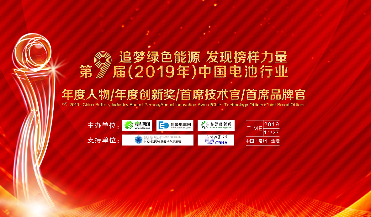 "ABEC 2019 – 7th China international forum on battery ""New energy industry"""